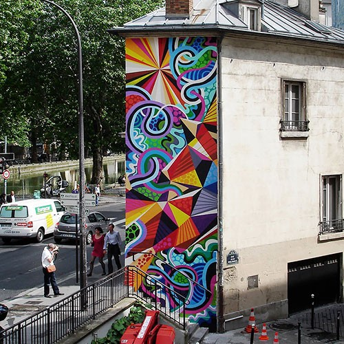 Matt W Moore Street Art Paris