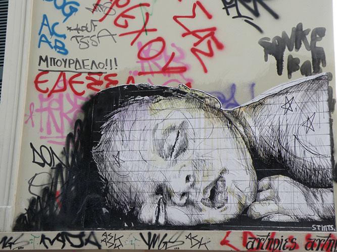 Street Art Athens STMTS Lisa Samloglou