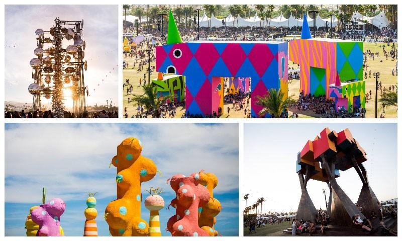 Coachella Festival 2017 Art Installations